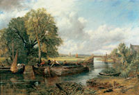 'View on the Stour near Dedham', by John Constable